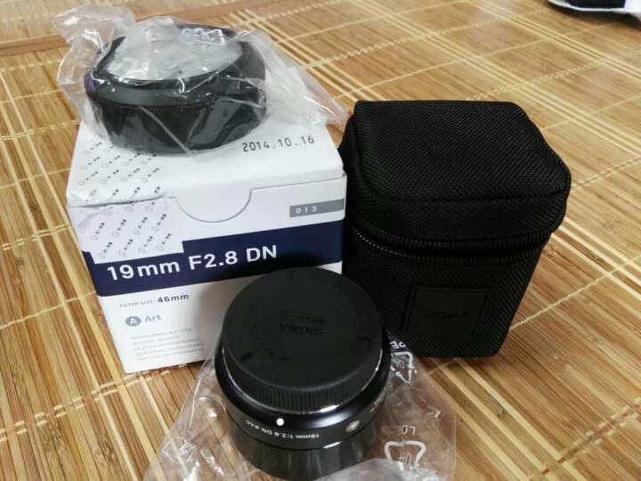 适马(SIGMA)ART 19mm F2.8 DN 半画幅 广角定焦镜头 微单风光人像(M4/3卡口镜头)黑色 晒单图