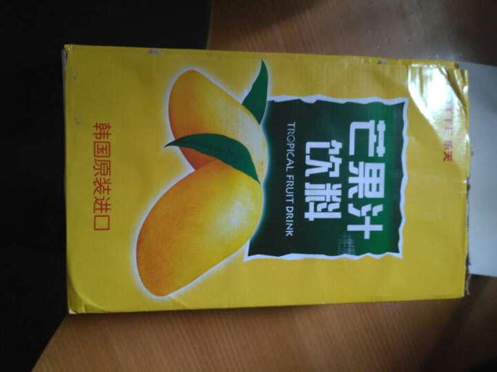 韩国进口乐天饮料 葡萄汁芒果汁碳酸牛奶味饮料整箱装 夏日饮品休闲零食品 橙汁 整箱12罐 晒单图