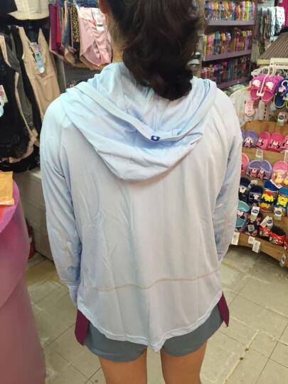 UV100 台湾夏季户外女士透气轻薄款防晒衣防紫外线运动休闲外套防晒服13171 蜜桃粉 L 晒单图