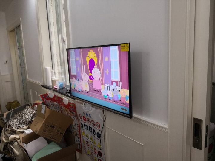 乐歌 17-50英寸电视挂架电视机支架旋转伸缩壁挂电视架32/43英寸小米创维夏普海信TCL索尼等通用PSW731S 晒单图
