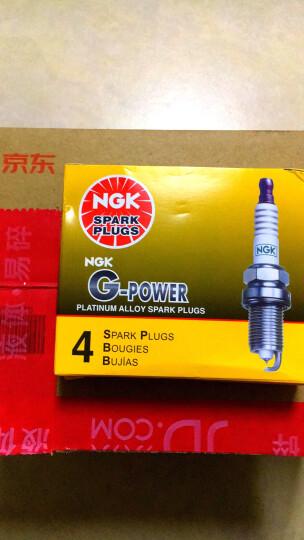 NGK日本原装进口铂金火花塞(4支) 09至14款斯柯达明锐 1.6 2.0 晒单图