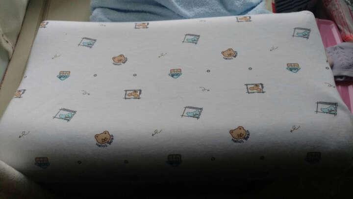 泰国直营品牌 katai泰国原装进口天然乳胶枕儿童睡枕头枕芯青少年成长枕 3-12岁包邮 儿童枕头50x30x7/9cm 晒单图
