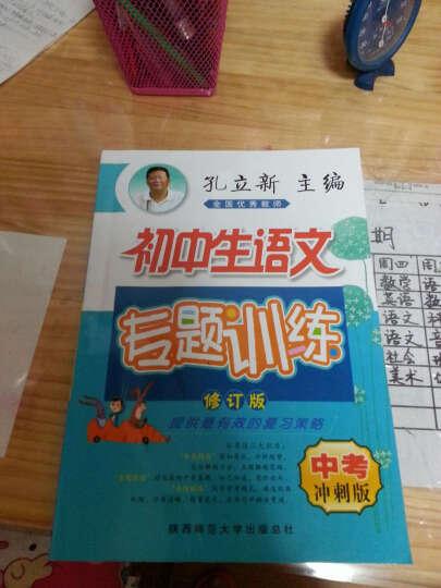 初中生语文专题训练:中考冲刺版(修订版 2015版) 晒单图