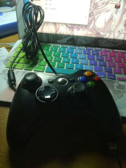 曼汀诺 XBOX360游戏手柄PC电脑USB双振动游戏手柄 黑色 无线 晒单图