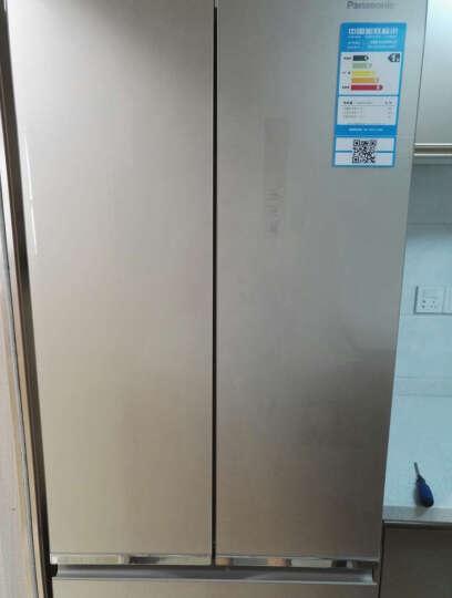 松下(Panasonic) 多门冰箱NR-D380TX-XN/S/XW 无霜变频380L NR-D380TX-XN尊雅金 晒单图