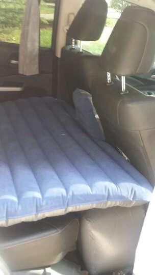 澳特赛车载充气床车震床  汽车后排充气床垫 自驾旅行床 轿车SUV通用 温馨米(选牛津材质为活力橙色) 连体无儿童档(植绒) 晒单图
