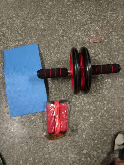 多德士 健腹轮 静音腹肌轮男士训练器收腹部健身器材家用女士减肚子滚滑轮520 晒单图