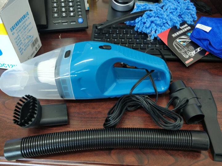 【京东秒杀】车爵士车载吸尘器 车用大功率 汽车吸尘器干湿两用 120W蓝色+车充+二合一数据线+手机支架 晒单图