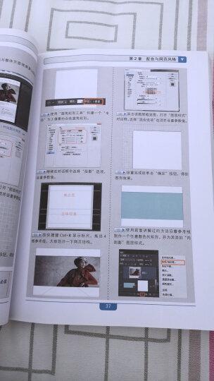 网页设计殿堂之路:Photoshop网页风格与配色设计全程揭秘(附光盘) 晒单图