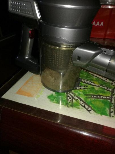 地贝Dibea吸尘器家用无线手持立式充电车载小型迷你车用吸尘机T6 红咖金 晒单图