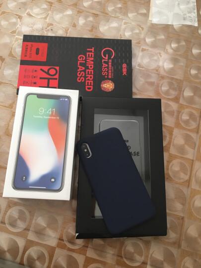 依斯卡(ESK) 苹果X钢化膜 iphoneX钢化膜 一体全透明玻璃 苹果Xs手机通用高清防爆淡指纹保护膜非全屏 JM196 晒单图