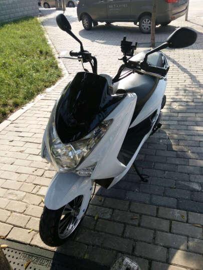 鹰仕莱(S-MAX)鸿图电喷摩托车踏板车电喷专用V6发动机省油好启动可改装经济时尚 蓝色 电喷摩托车 晒单图