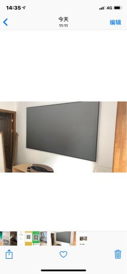 坚果(JmGO)S1超短焦激光电视U1家用投影机1080P全高清4K小米家庭影院投影仪 坚果S1 + 120英寸抗光幕 晒单图