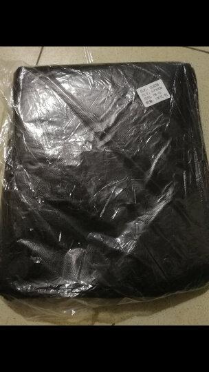蕊之魅 家用办公点断黑色加厚垃圾袋塑料袋 120*140 100只 平口物业袋 晒单图