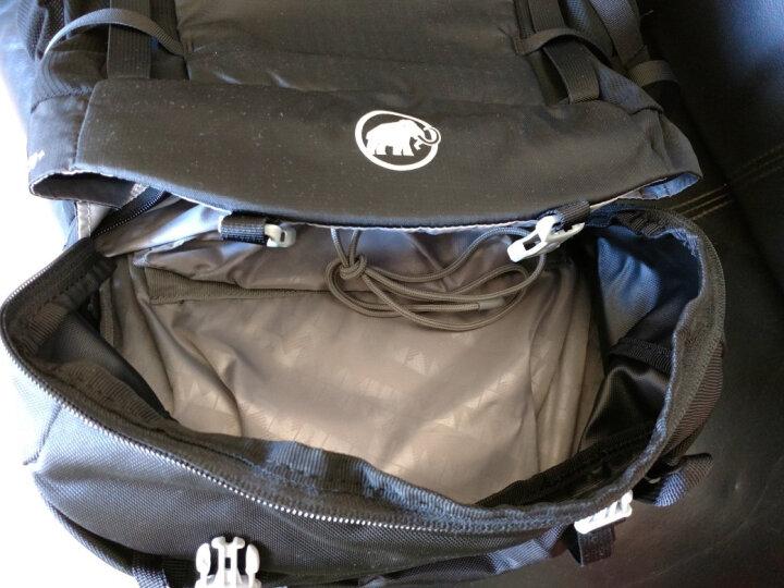 猛犸象(MAMMUT)背包 男女双肩包户外登山包时尚运动旅行包2510-03560 黑色50升+7升 晒单图