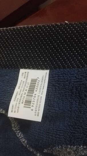 金号家纺纯棉枕巾欧式枕巾两条装 白色一对 晒单图