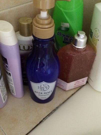ELENCE 啤酒麦芽洗发水护发素套装去屑止痒洗头膏柔顺持久留香洗护套装 啤酒酵素洗发水 晒单图
