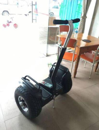 恒立通(HLT) 恒立通两轮电动平衡车越野平衡车思维车智能体感代步车双轮车大轮子平衡车 黑色锂电48v 晒单图
