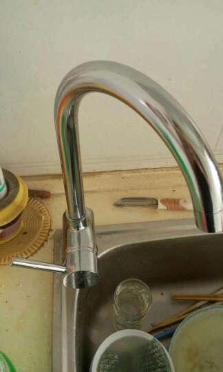 航标(Bolina) 3401-03 单把单孔厨房龙头 水槽龙头 全铜冷热水可旋转 晒单图