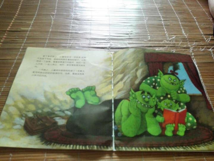 法国巴亚绘本系列:小魔怪要上学(平)3-6-8岁儿童早教启蒙绘本图书睡前故事书 晒单图