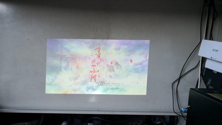 神画(PIQS) 投影仪家用投影机办公用高清影院迷你微型家庭电视手机便携式家用无屏投影电视 智能语音操控神画TT-I 晒单图