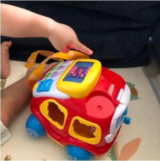 澳贝(AUBY) 益智玩具 电子汽车电话 婴幼儿童拖拉爬行积木拼插声光早教启智 463429DS 晒单图