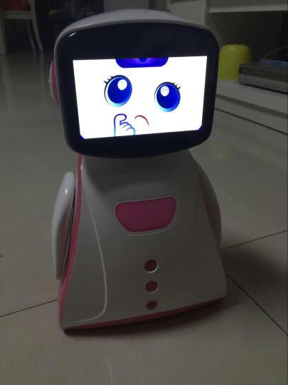 儿童智能陪伴机器人 孩童互动早教机小孩故事机婴儿幼童学习机益智玩具男女3-5 6岁 浅蓝色 晒单图