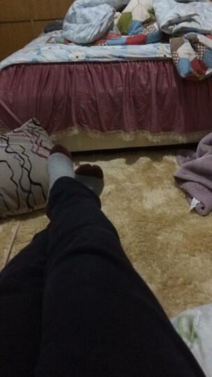 富居  地毯 单色时尚长丝绒可定制(订制)地毯   客厅 卧室 飘窗 床边地毯 水粉色 2米*3米 晒单图