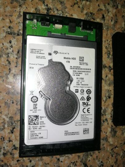 飚王(SSK)HE-G303天启2.5英寸移动硬盘盒 USB3.0 SATA接口 SSD固态硬盘笔记本硬盘外置盒 黑色 晒单图