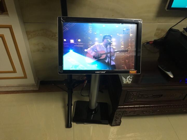 威斯汀(WESTDING) 点歌机家庭影院ktv音响组合功放套装家用卡拉OK双系统一体机10英寸低音 108智能语音双系统(2T版) 晒单图