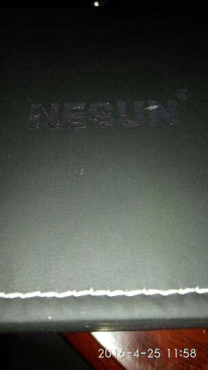 尼尚(Nesun)手表男士机械表全自动机械表男表 双日历男士表 背透镂空夜光防水手表 土豪金色MS9162-QQQ 晒单图