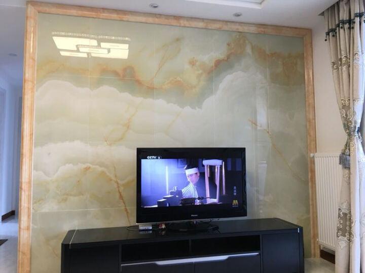 唐梦(TOMMONG) 瓷砖背景墙 欧式客厅 地砖地板砖 微晶石3d电视背景墙砖 云中歌 水晶釉面/0.1平方米 晒单图