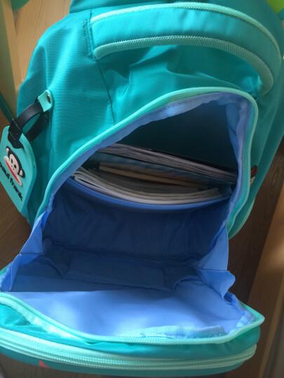 大嘴猴(Paul Frank)儿童书包男款小学生书包 英伦风减负小学生双肩背包休闲包 PKY2160A宝蓝色 晒单图