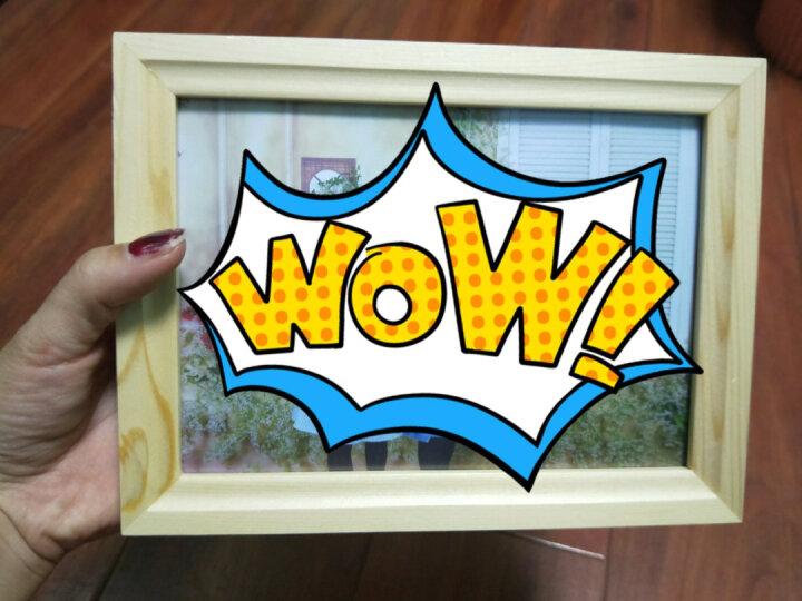 亮丽(SPLENDID)相框摆台画框照片墙 7英寸 质生活原木色 晒单图