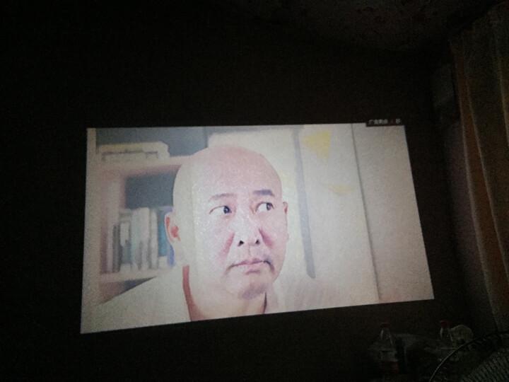 Rigal 瑞格尔投影机 家庭影院808/810WiFi手机无线投影仪办公 家用 增强版带WIFI蓝牙带手机同屏白色810 晒单图