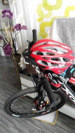 GUB SS公路山地自行车单车骑行头盔一体成型超轻防虫网装备配件 骑行头盔跑男同款山地车头盔男女款 白色L码 晒单图