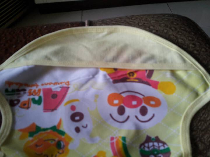 嘉乐宝杰斯卡婴儿面包超人围嘴 儿童无袖罩衣 宝宝防水 男童女童反穿衣 吃饭衣 小孩围兜 粉红色1 均码 晒单图