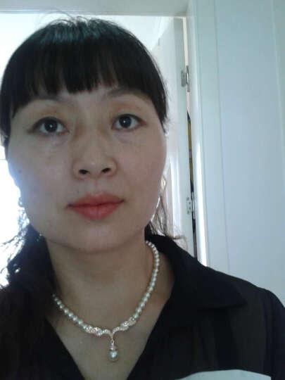蛟蓓项链耳钉套装女气质OL风人造珍珠饰品爱的华尔兹 礼物 晒单图