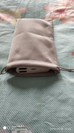 优越者(UNITEK)分线器硬盘盒手机收纳袋充电宝移动充电器保护套袋子移动硬盘U盘耳机束口绒布袋大号Y-OT21GY 晒单图