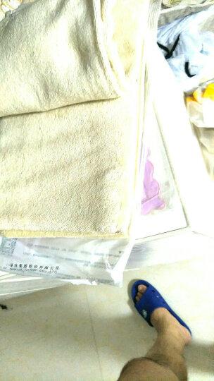 【1浴巾+2毛巾】孚日洁玉新疆长绒棉浴巾毛巾三件套装全棉成人男女儿童柔软吸水 加州印象-棕色 晒单图