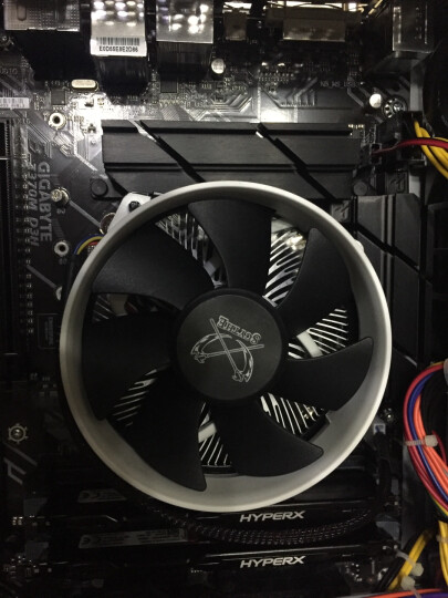 大镰刀(SCYTHE)S950N CPU散热器(支持115X平台/下压式散热器/62mm高度/铜芯/ITX 散热器) 晒单图