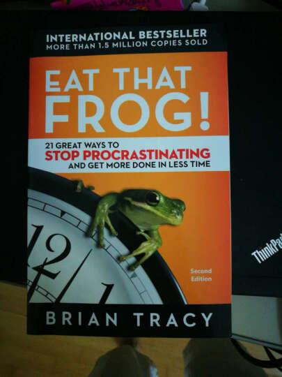 Eat That Frog 吃掉那只青蛙 英文原版 战胜拖延症 21个好方法 晒单图