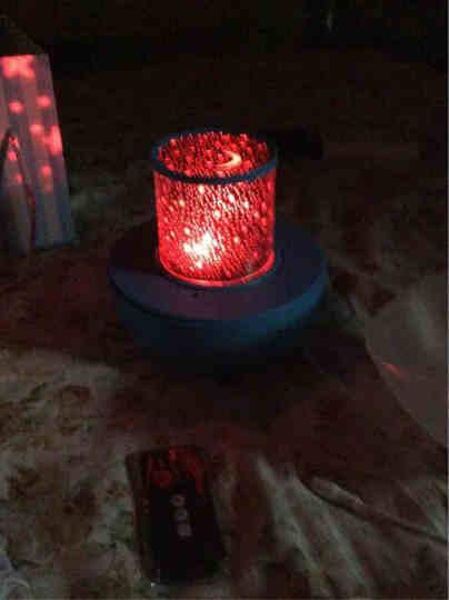 生日礼物女生情人节礼物送女友浪漫星空灯投影灯星光灯送老婆创意抖音同款实用表白抖音网红教师节礼物送老师 带蓝牙五色版(不印制) 晒单图