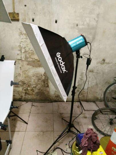 神牛(Godox)GS250W摄影灯摄影棚套装闪光灯商品证件摄影棚摄影棚器材拍照 小型顶灯横臂支架 晒单图
