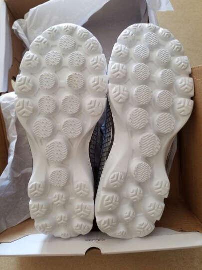瑞士matehom情侣新款健步鞋徒步鞋 男女户外休闲鞋 透气网布鞋时尚潮流网鞋 M1505-男-海军蓝 44 晒单图