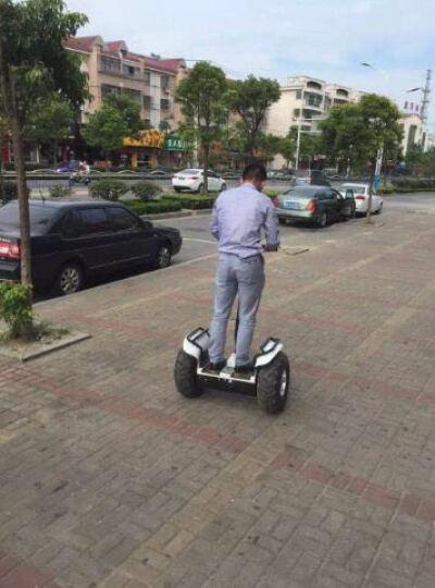 恒立通(HLT) 恒立通两轮电动平衡车越野平行车思维车智能体感代步车双轮车大轮子代步神器 黑色双组48v锂电 晒单图
