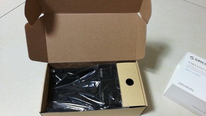 奥睿科(ORICO)3.5英寸硬盘保护盒 台式机硬盘收纳盒 防潮/防震/耐压/抗摔保护套保护包 带标签 蓝色PHP35 晒单图