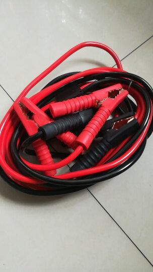 优驰 汽车电瓶线搭火线 过江龙鳄鱼夹子 电池连接线 搭铁打火线搭电线 4米-电瓶搭火线(500A) 晒单图