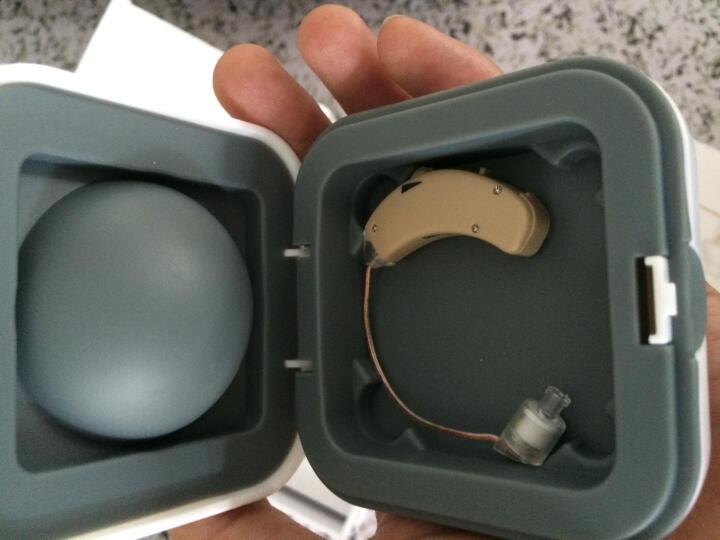 哈斯福 助听器老年人隐形老人切换接打电话 耳聋耳背式无线单双耳机助听器 专用电池6颗 晒单图