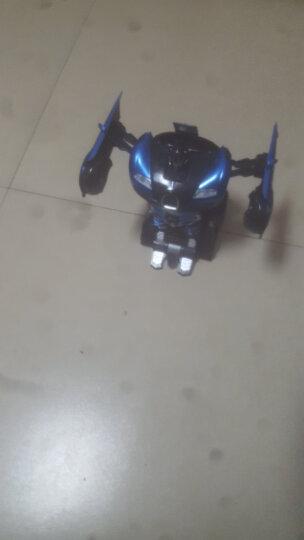 【京东好店认证】儿童遥控车1:14变形金刚玩具机器人一键变形可充电男孩汽车模型 兰博基尼蓝(手势感应变形)送两块电池+大礼包 晒单图
